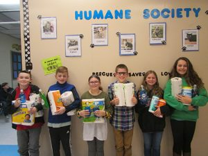 BIS Students Collect Supplies For Worcester Humane Society