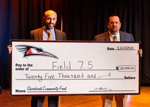 Shorebirds Community Fund Donate $25K To Wicomico Recreation & Parks' Field 7 1/2  Initiative