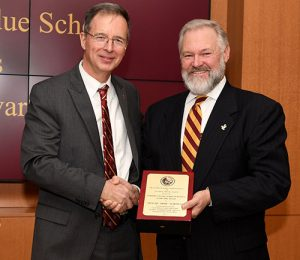 "Perdue School's Executive Advisory Council Recognize Alumnus Dwight  ""Duke"" Marshall"