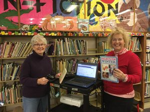 RWWC Literacy Committee Volunteer At Showell Elementary Media Center