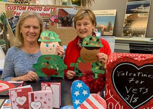 RWWC Send Valentine Cards Veteran Homes, VA Hospitals