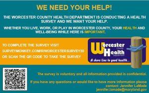 Community Health Survey Input Sought