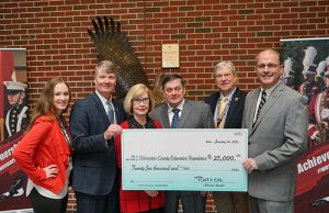 Couple Donates To Worcester County Education Foundation