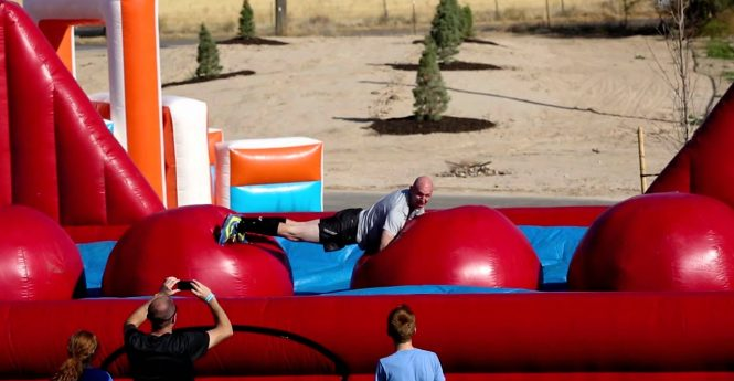 Private Sector Steps Up To Fund Great Inflatable Race; Funding Likely To Keep Event In West OC