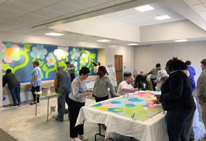 Officials Looking To Exhibit Mural Inside Berlin Library
