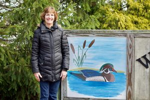 Resident Puts Painting Skills To Use In Pines