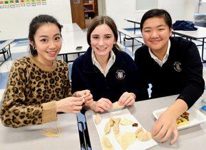 Worcester Students Learn To Make Dumplings In Mandarin Language Class