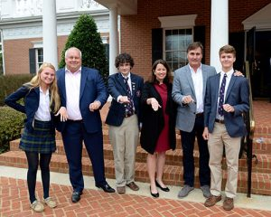 Alumni Parents Come Back To Participate With Students In Worcester Ring Ceremony