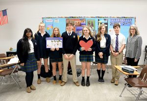 Worcester Prep French Language Students Send Get Well Cards To Children In Montreal Hospital