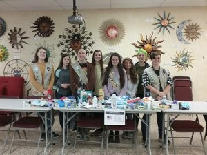 Girl Scouts Collect For Operation We Care