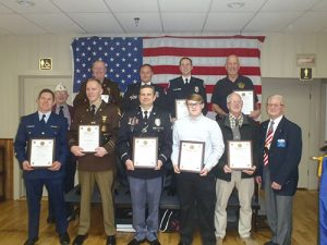 American Legion Holds Annual First Responders Awards