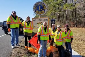OC Lions Clean Up Rte. 611