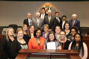 Worcester Commissioners Proclaim March National Social Work Month
