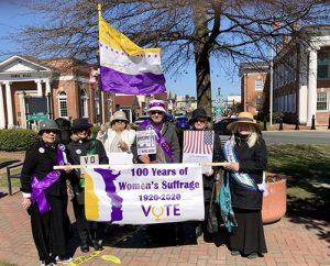 Geoergetown Circle Celebrates International Women's Day & Suffrage