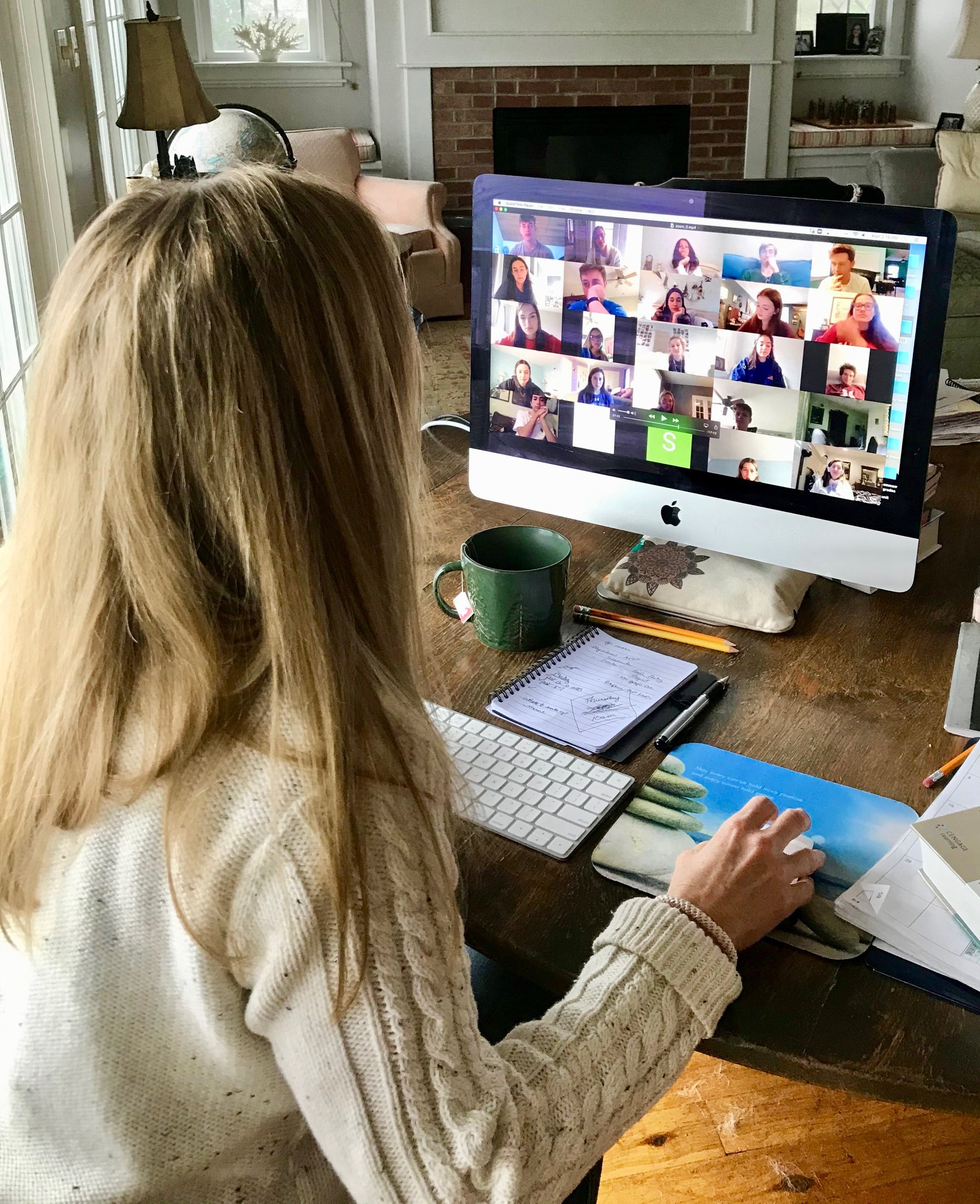 School Using Technology, Teamwork To Continue Academic Learning For Students