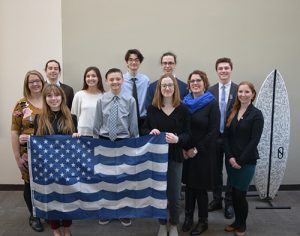 Decatur Surfriders Participate In Hill Day