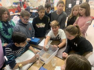 BIS Students Design Water Filtration Systems