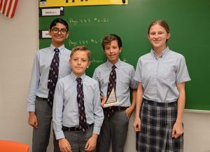Worcester Prep MATHCOUNTS Team Compete In Regional Competition