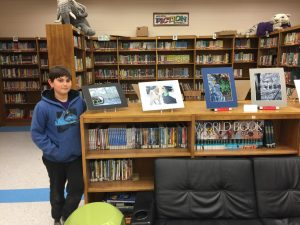 BIS Students Have Media Center Expo Entries On Display