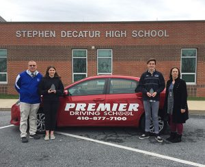 Decatur's Canham, Poist Named Premier Driving Athletes Of The Month