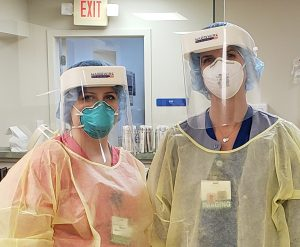 Hardwire Steps Up To Produce Protective Face Shields For Hospital Staff