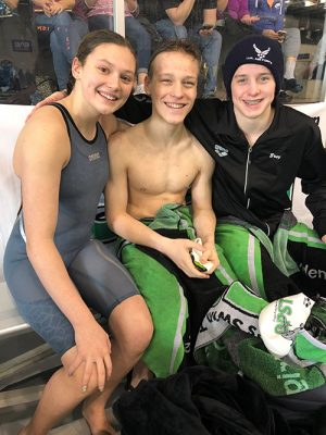 Pines Swimmers Set Records In State Meet