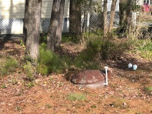 Concerns Expressed Over Leaking Sewage Holding Tanks; Spray Irrigation Meeting Set For Tonight
