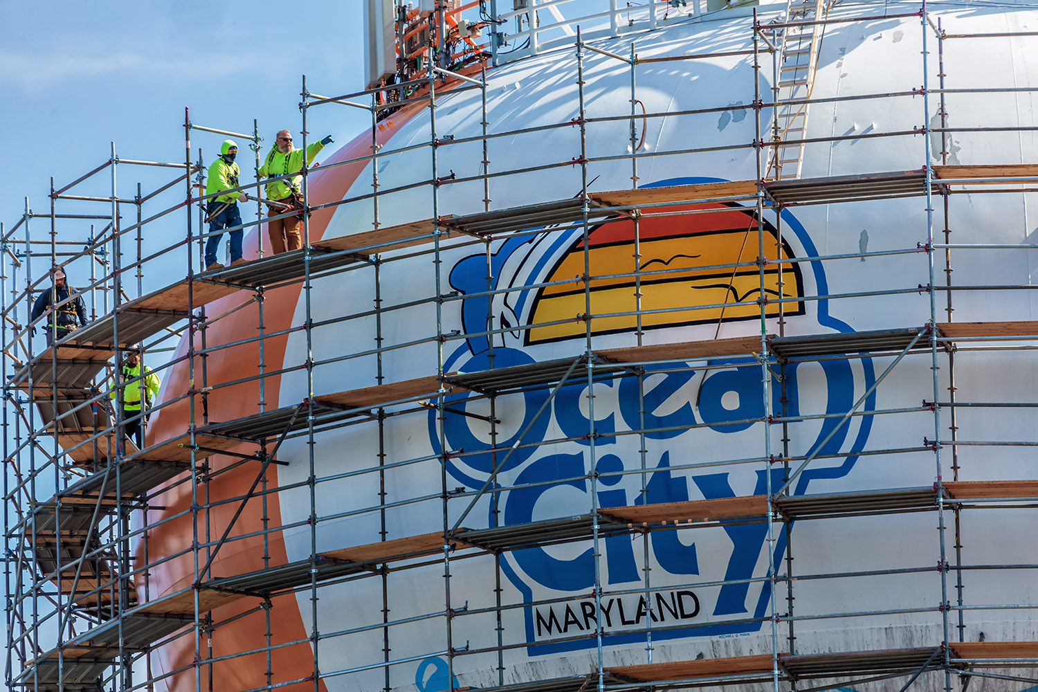 'The Town Of Ocean City Is Not Paying A Penny' For Beach Ball Tower Painting
