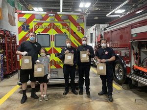 Decatur Diner Provides Bagged Lunch To Call Centers & Fire Departments