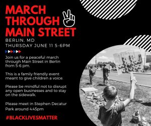 March Through Main Street Planned In Berlin; Weather Concerns Lead To Postponement