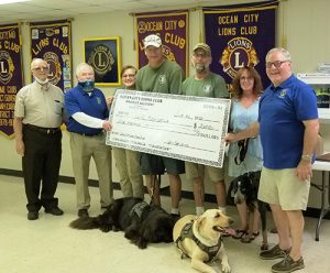 Lions Donations Supports Disabled Vets & Shelter Animals