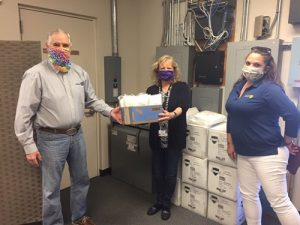 Masked Superheroes Deliver PPE To AGH