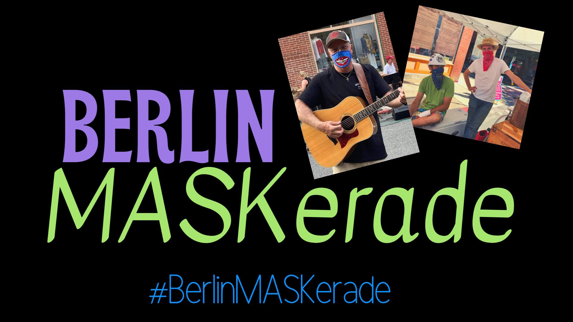 Berlin Offering Social Media MASKerade Campaign