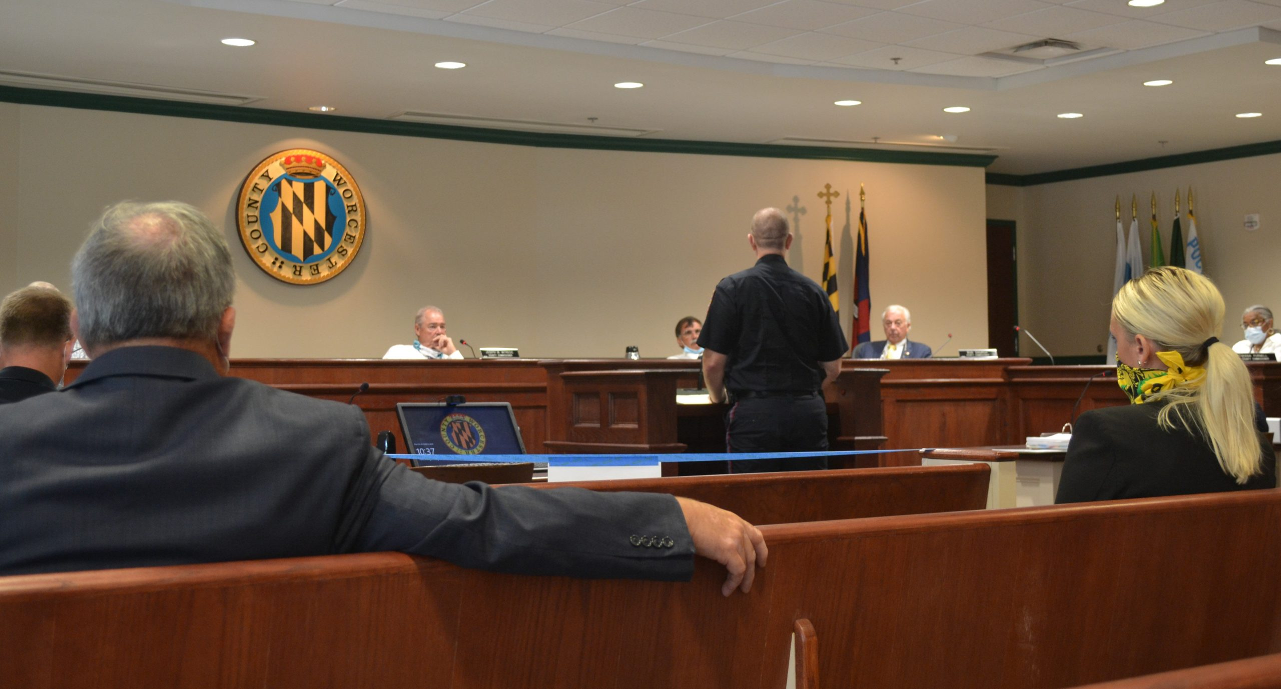 Commissioners, Law Enforcement Leaders Talk Current Events, Use Of Force Standards