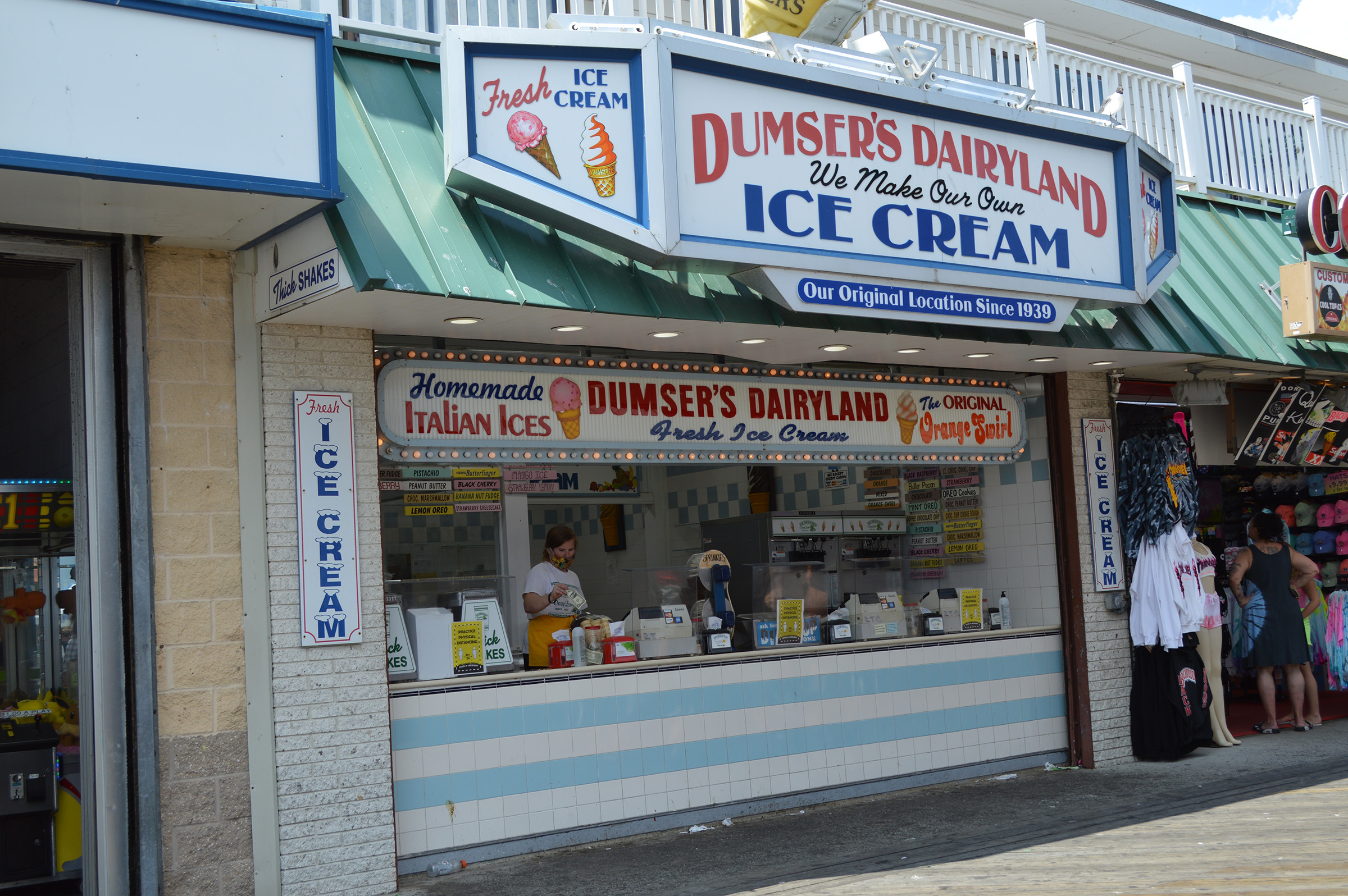 For Dumser's, It Remains 'All About The Ice Cream' 80 Years Later