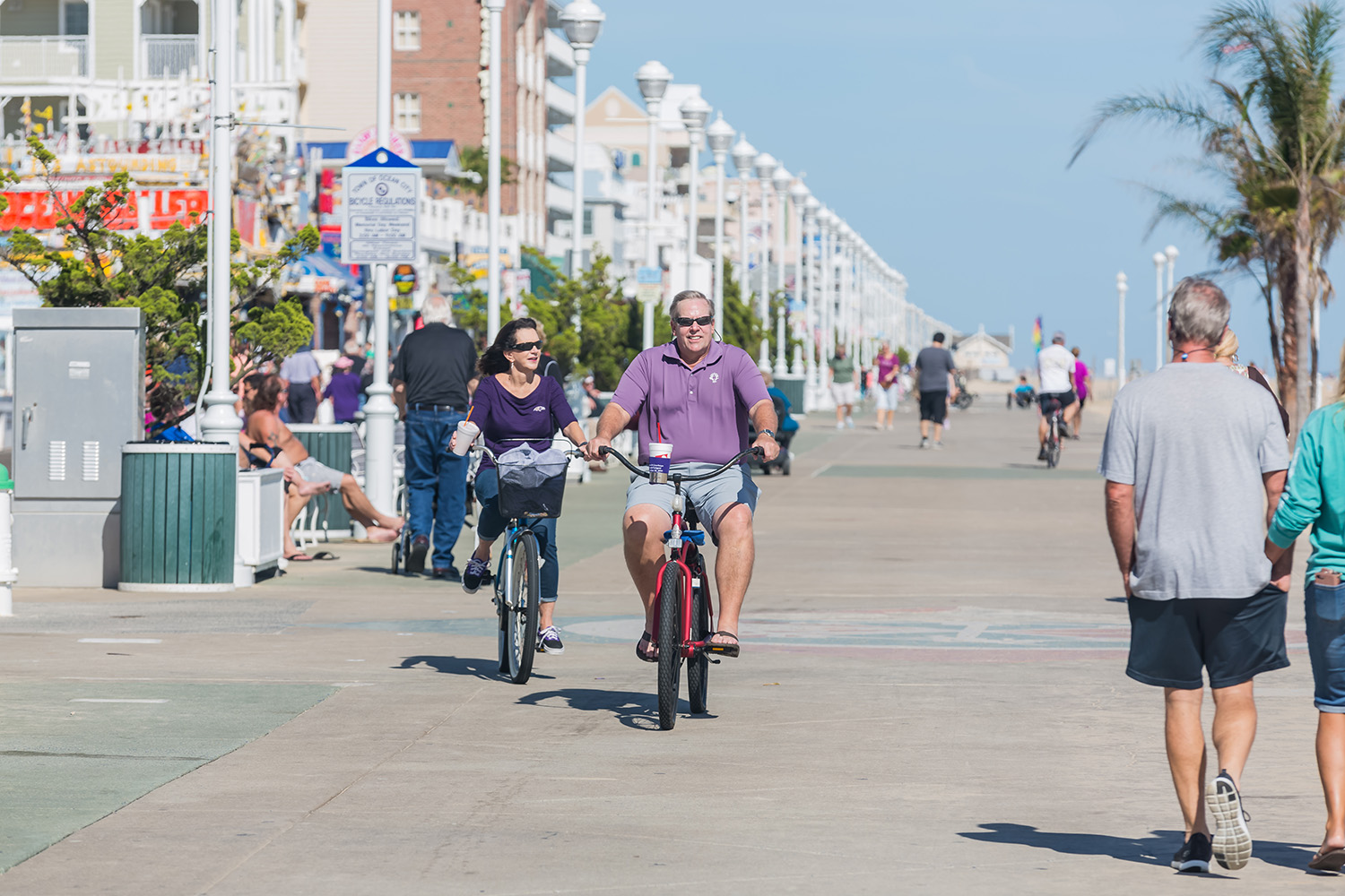 Boardwalk Bikers Can Now Ride Until 2 P.M. Each Day