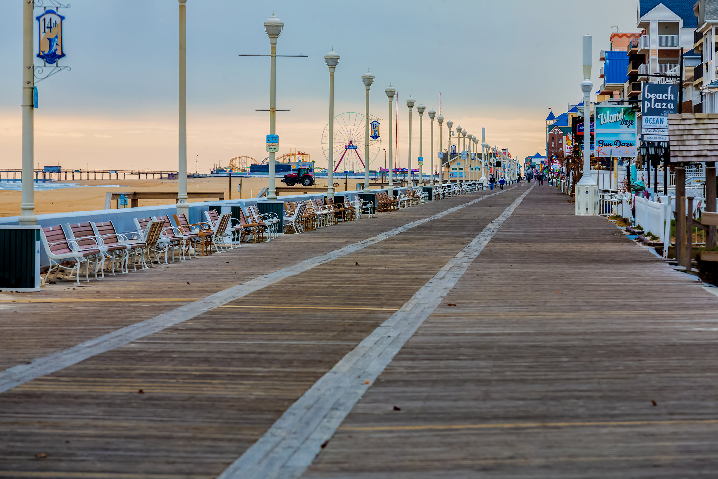 Boardwalk Redecking Project Delayed By Lumber Shortage