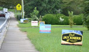 Unauthorized Campaign Sign Placement Not A Matter For Berlin Ethics Commission; Candidate Apologizes To Resident