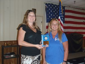 Thompson Named American Legion Auxiliary Member Of Year