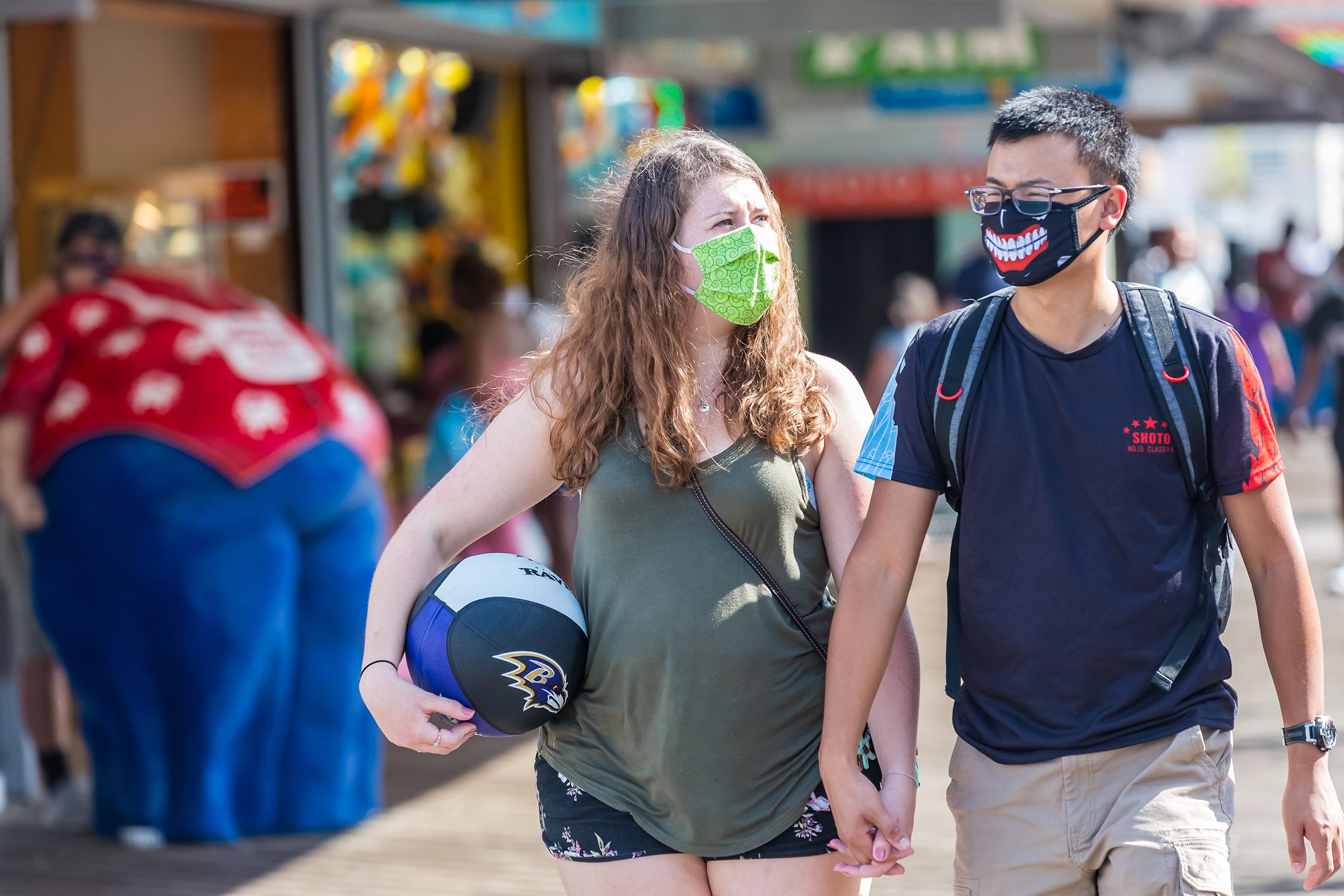 Le maire prolonge la déclaration d'urgence du masque de promenade