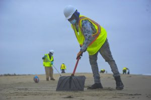 Oil Spill Cleanup Efforts Continue For Coastal Delaware