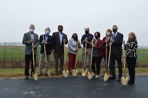 Airport Water Main Extension Breaks Ground