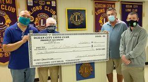 OC Lions Donate $1000 To OC ReC. & Parks