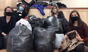 Art League Deliver Winter Coats To Diakonia During Annual Coat Drive