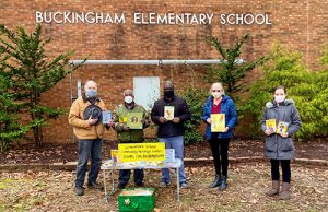 Germantown School Community Heritage Center Donate Books To Buckingham Elementary