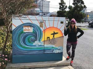 Latest OCDC Public Art Painted Utility Box Completed