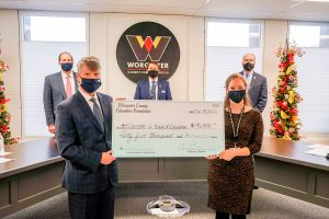 Foundation Donation Directed To Hot Spot Purchases