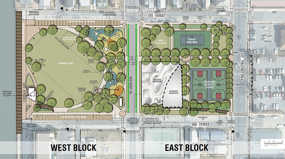 Council Supports Downtown Park Redevelopment Concept