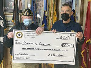 OC American Legion Post 166 Donate Over $150,00 In 2020