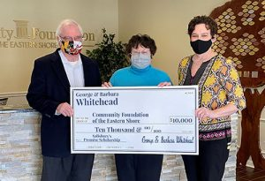 Dr. Whitehead & Wife Donate $10,000 To Salisbury Promise Scholarship Fund